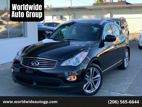 2011 Infiniti EX35 for sale at Worldwide Auto Group in Auburn WA