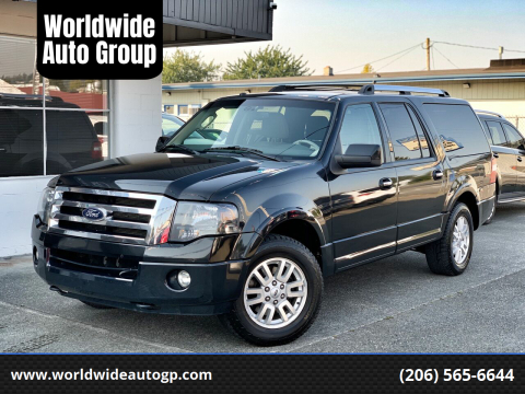 2012 Ford Expedition EL for sale at Worldwide Auto Group in Auburn WA
