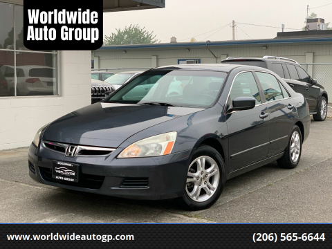 2006 Honda Accord for sale at Worldwide Auto Group in Auburn WA