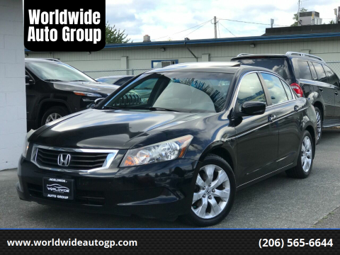 2009 Honda Accord for sale at Worldwide Auto Group in Auburn WA