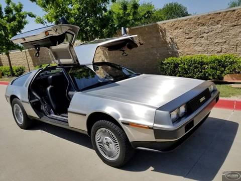 1981 DeLorean DMC-12 for sale in Garland, TX