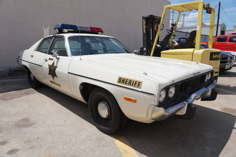 1973 Plymouth Satellite for sale at Grubbs Motorsports & Collision in Garland TX