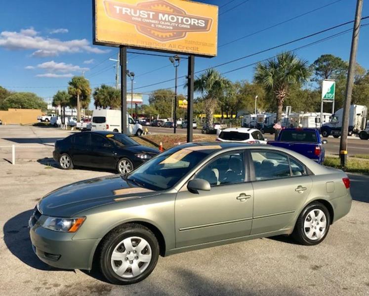 2008 Hyundai Sonata For Sale At Trust Motors In Jacksonville FL