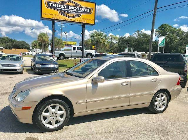 2002 Mercedes Benz C Class For Sale At Trust Motors In Jacksonville FL
