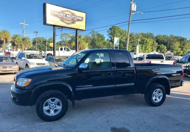 2006 Toyota Tundra For Sale At Trust Motors In Jacksonville FL