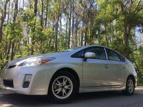 2010 Toyota Prius for sale at ICar Florida in Lutz FL