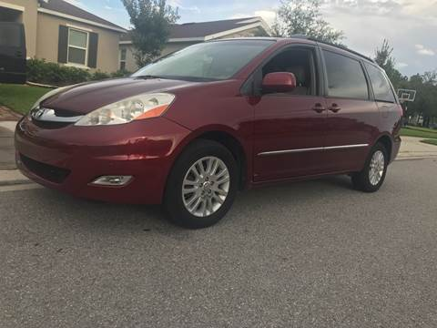 2008 Toyota Sienna for sale at ICar Florida in Lutz FL