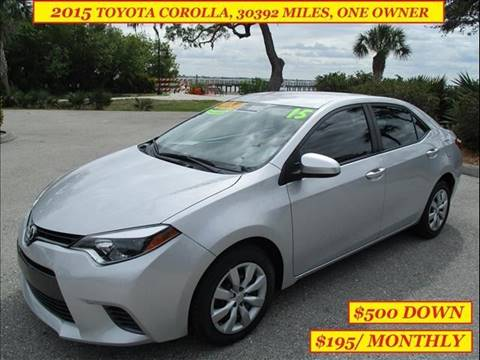 Charming 2015 Toyota Corolla For Sale In Port Charlotte, FL