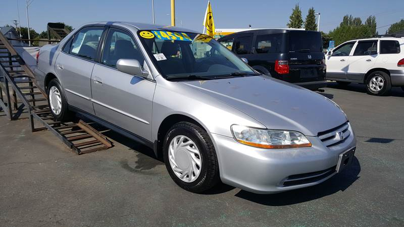 2001 Honda Accord For Sale At Good Guys Used Cars Llc In East Olympia WA