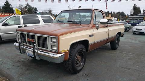 1986 GMC C/K 2500 Series for sale in East Olympia, WA