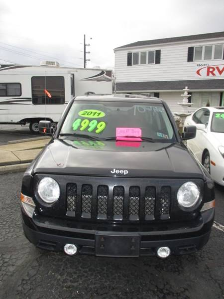 2011 Jeep Patriot for sale at R & G RV's in Ravenna OH
