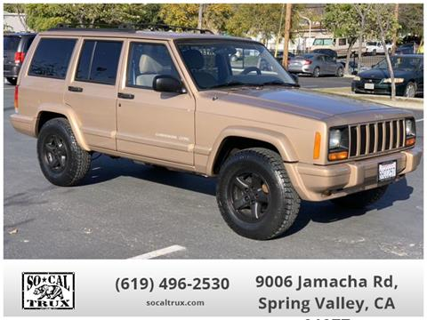 1999 Jeep Cherokee for sale in Spring Valley, CA
