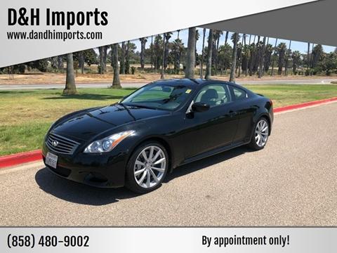Infiniti San Diego >> 2008 Infiniti G37 For Sale In San Diego Ca