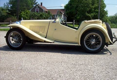 1949 MG TD for sale in Medina, OH