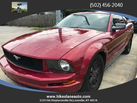 Ford Mustang For Sale In Louisville Ky Carsforsale Com