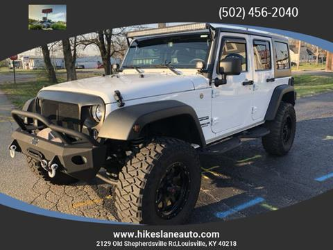 2016 Jeep Wrangler Unlimited for sale in Louisville, KY