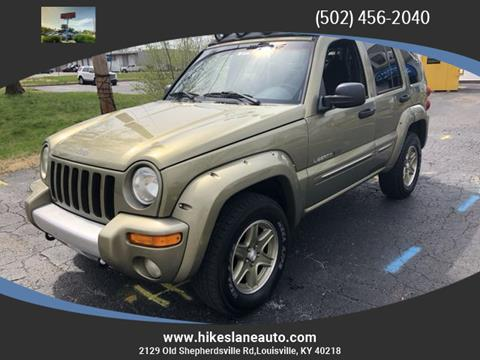 2002 Jeep Liberty for sale in Louisville, KY