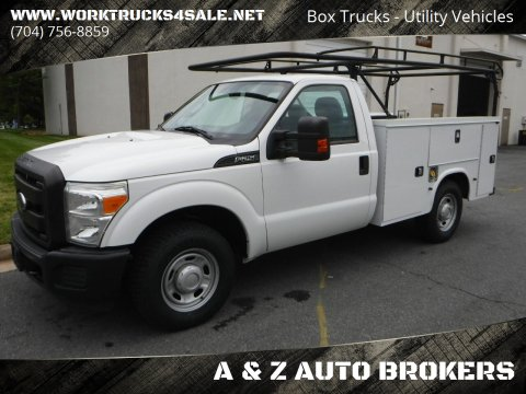 2014 Ford F-250 Super Duty XL for sale at A & Z AUTO BROKERS in Charlotte NC