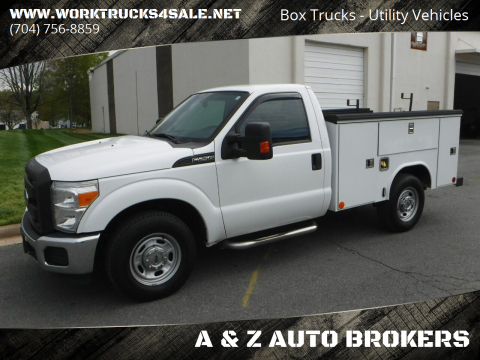 2015 Ford F-250 Super Duty XL for sale at A & Z AUTO BROKERS in Charlotte NC