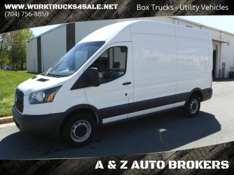 2015 Ford Transit Cargo 250 for sale at A & Z AUTO BROKERS in Charlotte NC
