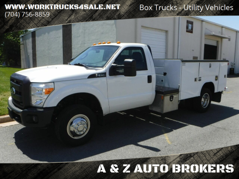 2015 Ford F-350 Super Duty XL for sale at A & Z AUTO BROKERS in Charlotte NC