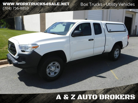 2017 Toyota Tacoma SR for sale at A & Z AUTO BROKERS in Charlotte NC