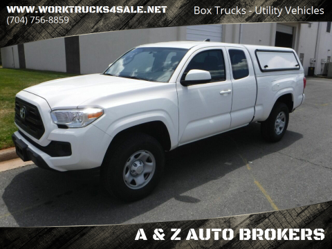 2016 Toyota Tacoma SR for sale at A & Z AUTO BROKERS in Charlotte NC