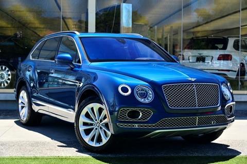 2018 Bentley Bentayga for sale in Thousand Oaks, CA