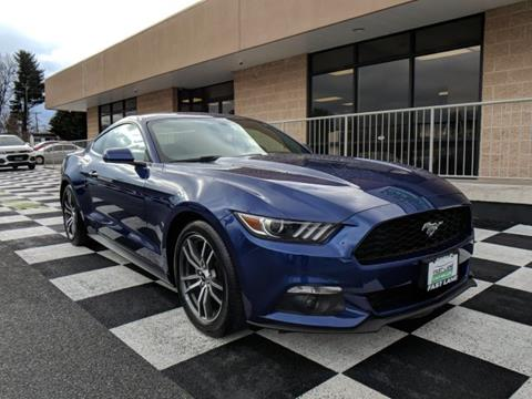 2016 Ford Mustang for sale in Hagerstown, MD