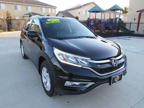 2015 Honda CR-V for sale at Repeat Auto Sales Inc. in Manteca CA
