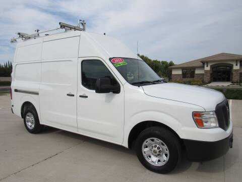 2013 Nissan NV Cargo for sale at Repeat Auto Sales Inc. in Manteca CA