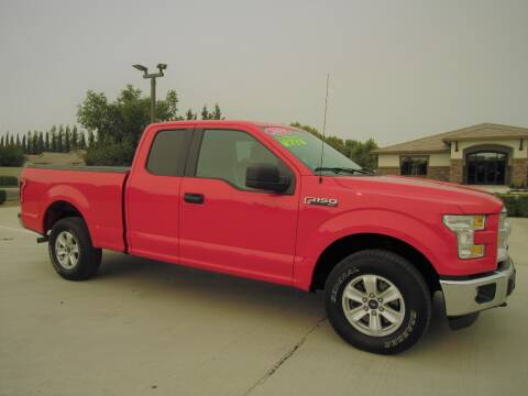 2015 Ford F-150 for sale at Repeat Auto Sales Inc. in Manteca CA