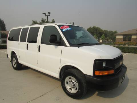 2015 Chevrolet Express Passenger for sale at Repeat Auto Sales Inc. in Manteca CA