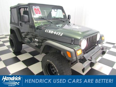 2005 Jeep Wrangler for sale in Easley, SC