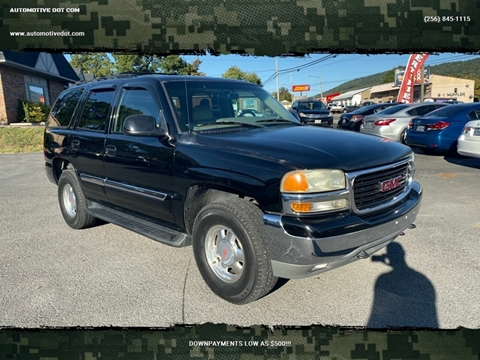 2002 GMC Yukon for sale in Fort Payne, AL