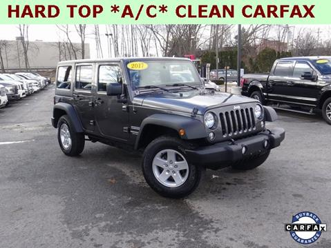 2017 Jeep Wrangler Unlimited for sale in Framingham, MA