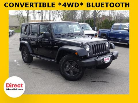 2016 Jeep Wrangler Unlimited for sale in Framingham, MA