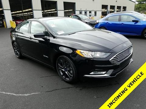 2018 Ford Fusion Hybrid for sale in Framingham, MA