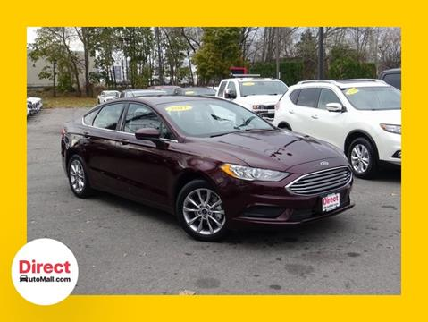 2017 Ford Fusion for sale in Framingham, MA