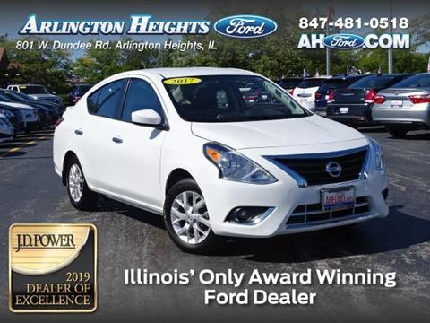 Arlington Heights Nissan >> 2017 Nissan Versa For Sale In Arlington Heights Il