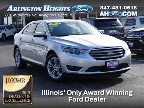 Ford Dealership Phoenix Az >> 2018 Ford Taurus For Sale In Arlington Heights Il