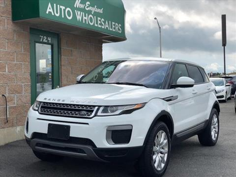 2016 Land Rover Range Rover Evoque for sale in Springfield, MA