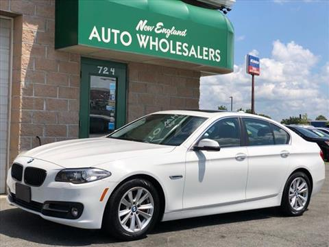 2016 BMW 5 Series for sale in Springfield, MA