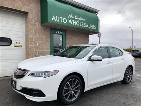 2016 Acura TLX for sale in Springfield, MA