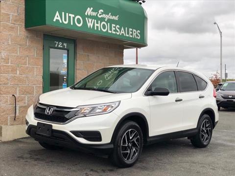 2016 Honda CR-V for sale in Springfield, MA