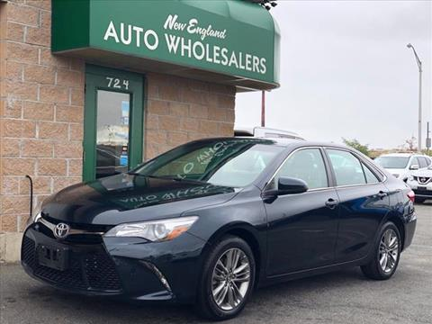 2017 Toyota Camry for sale in Springfield, MA