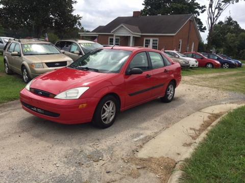2001 Ford Focus for sale in Clayton, NC