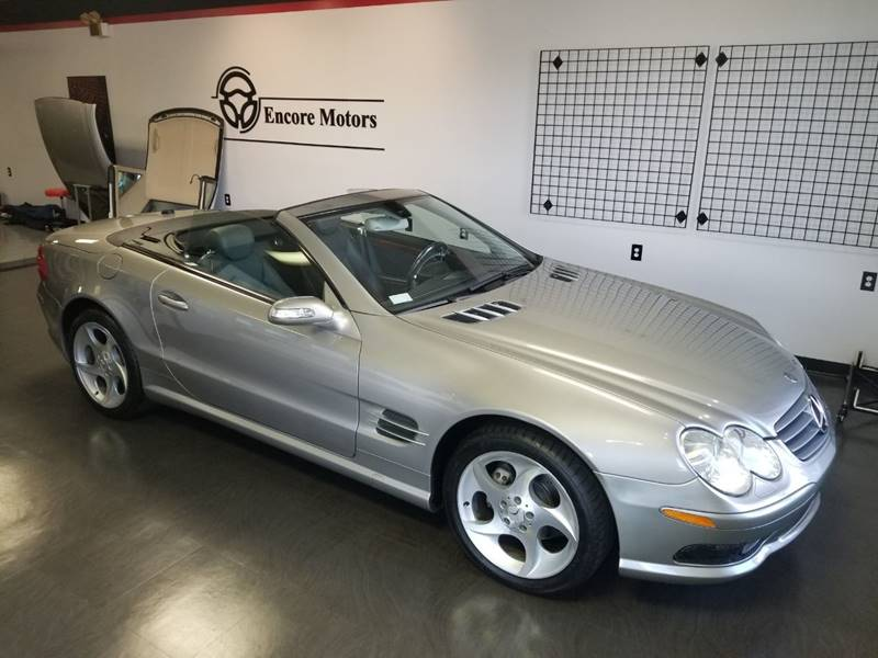 2005 Mercedes-Benz SL-Class for sale at Encore Motors in Macon GA