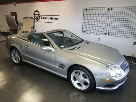 2005 Mercedes-Benz SL-Class for sale at Encore Motors in Macon GA