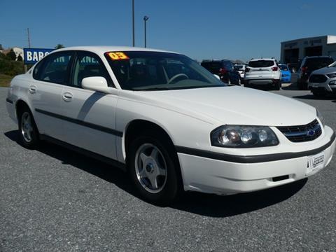 2003 Chevrolet Impala for sale in Mount Joy, PA